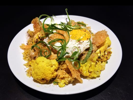 ButaPub's cauliflower fried rice is another of its