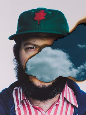 Photo of Justin Vernon of Bon Iver.