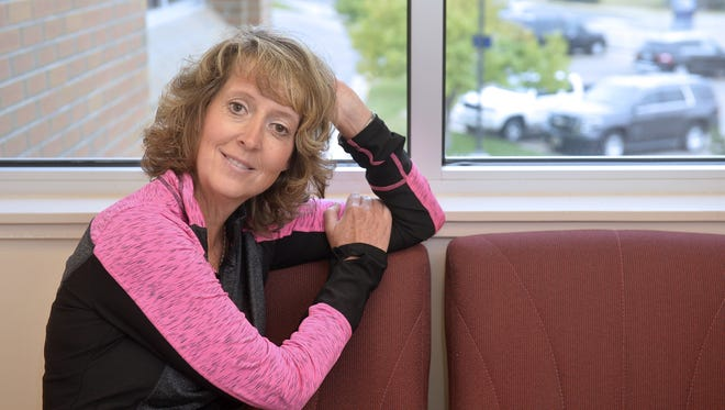 """""""I never thought I would be the one,"""" said Denise Naeseth, who had no family history of cancer before her diagnosis."""