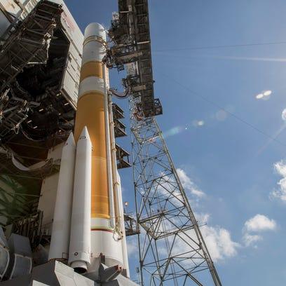 ULA's Delta IV rocket at Cape Canaveral Air Force Station's