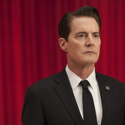 This image released by Showtime shows Kyle MacLachlan
