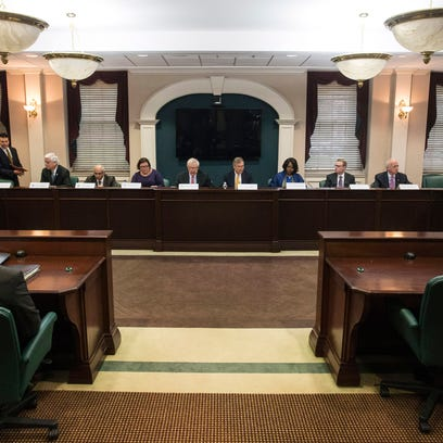 The University of Louisville Board of Trustees met