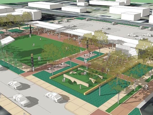 seventh street park rendering