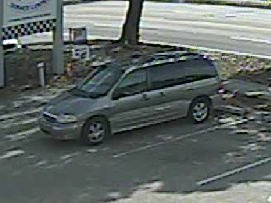 The Ford Windstar van that Gineliz Pacheco got into after running away from the Pace Center for Girls.