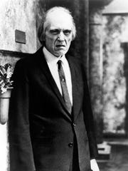 "Angus Scrimm as the Tall Man from the 1979 horror film ""Phantasm."""