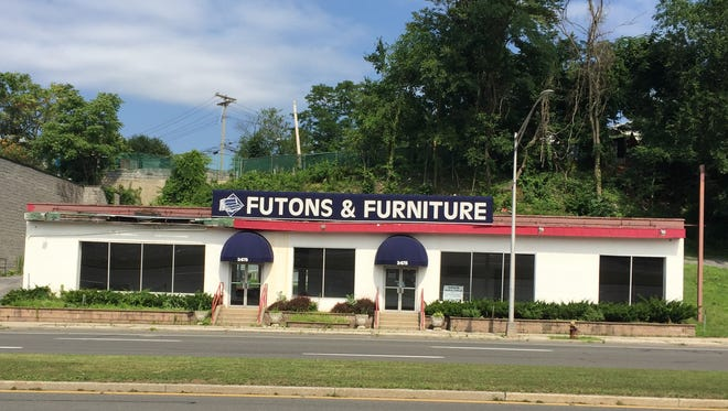 A deli is proposed for this former furniture store at 2475 Central Park Ave. in Yonkers.