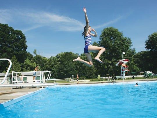 Ramsey Municipal Pool.