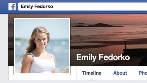 GREENWICH, Conn. Police have identified the 16-year-old Greenwich High School student killed in a boating accident that also seriously injured another 16-year-old girl. Greenwich police say Emily Fedorko, shown in this Facebook Photo, died Wednesday after she was struck by the propeller of a boat towing her and the other girl who were tubing. Two other girls, also 16, were operating the boat.