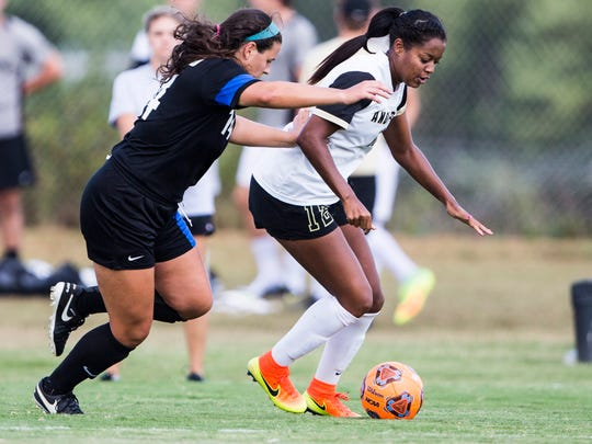 Anderson University's Tina Shakes transferred from Clemson to play out her final collegiate season and made first-team All-SAC.