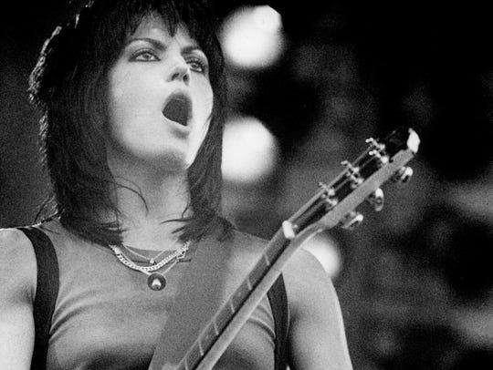 Joan Jett plays the Electric Cowboy Rock Festival in
