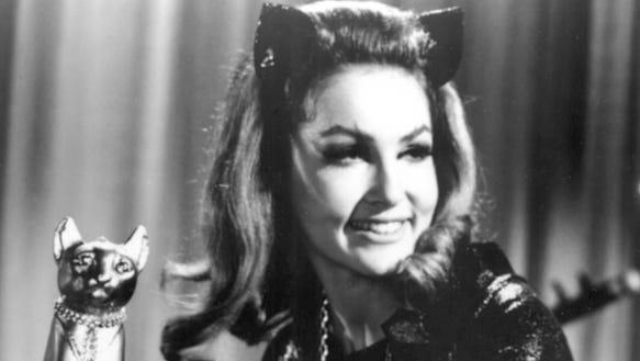 Julie Newmar B&W Catwoman