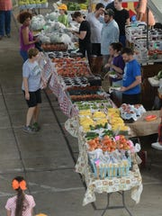 The Shreveport Farmers Market will close Aug. 29, overlapping with Bossier City Farmers' Market, which opens Aug. 1.
