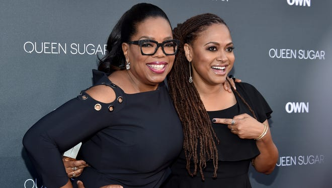 OWN founder Oprah Winfrey, left, and 'Selma' director Ava DuVernay are executive producers of OWN's 'Queen Sugar.'