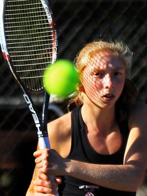 Nobody was better on the court in the 2010s than East Greenwich's Peri Sheinin, who made it to four individual state tournament finals and won three titles.