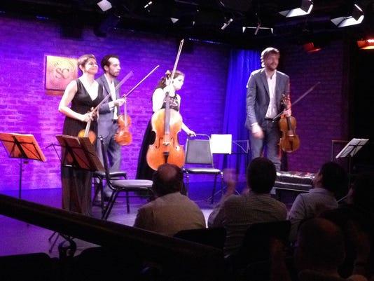 Ariel Quartet performs at SubCulture