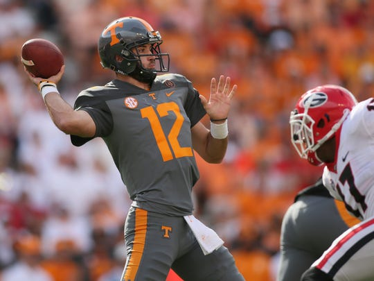 Former Tennessee Volunteers quarterback Quinten Dormady will be a graduate transfer immediately eligible to play for the 2018 season and could be an option for CSU to replace the injured Collin Hill.