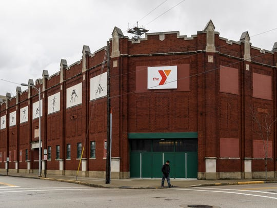 The current Evansville YMCA building on Court Street.
