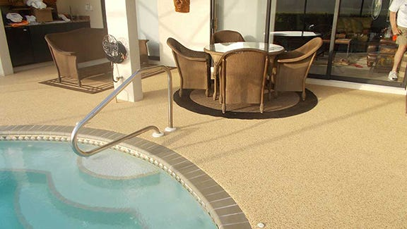 Homeowners love the non-slip, heat-resistant, maintenance-free qualities of DreamDek surfaces.
