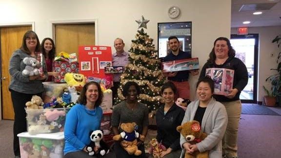 Somerset Family Physical Therapy at 14 Worlds Fair Drive in Somerset will be collecting toys for its third season this year until Dec. 9.