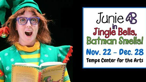 """Holiday stage comedy """"Junie B. Jones"""" is based on the children's books of Scottsdale author Barbara Park."""