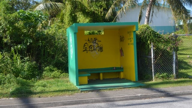 The Islandwide Beautification Task Force has announced a bus stop in Sinajana is available for adoption. If you're interested in the Adahi I Tano Program, Guam Seal Bus Stop Program, the Roadway Adoption Program, or any of our other projects, call 475-9383 or email Lt.ibtf@guam.gov for more information.