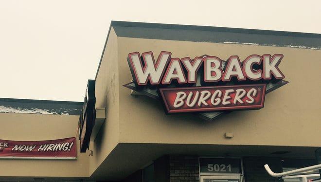 Wayback Burgers will open soon at 5021 W. Saginaw Highway.