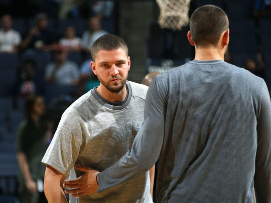 Memphis Grizzlies forward Chandler Parsons missed the entirety of the preseason.
