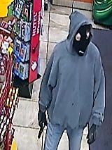 Lafayette Police Department released this image Tuesday of a suspect in a Shell station armed robbery on Sunday, May 8, 2016.