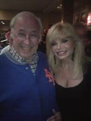 Frank Todd with Loni Anderson.