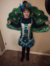 Elena Longenecker was dressed up and ready to go trick-or-treating Saturday.