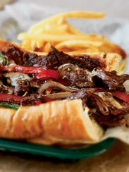 A Philly Cheesesteak.
