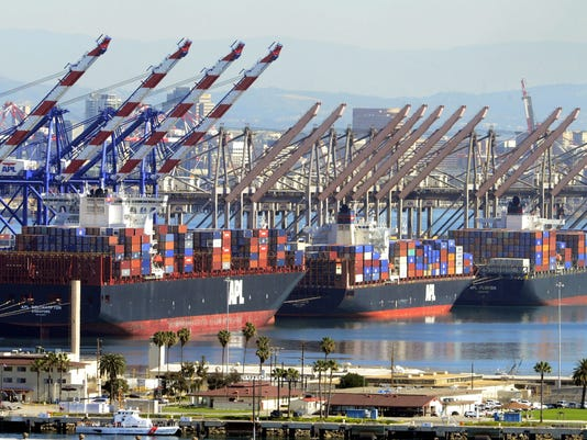 Los Angeles and Long Beach port shut downs
