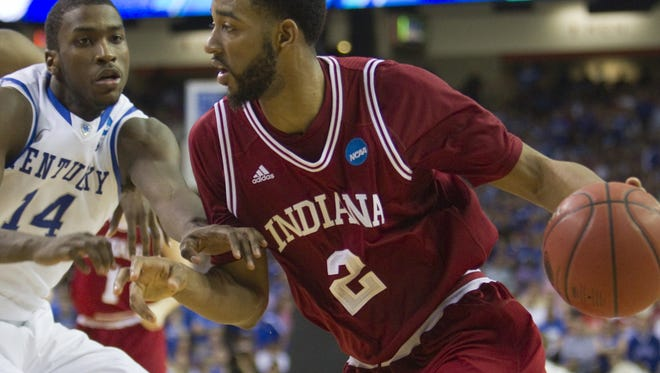 Christian Watford of Indiana was defended by Michael Gilchrist of Kentucky during the 2012 NCAA Tournament.