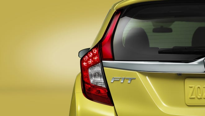 The wraps will come off the 2015 Honda Fit in Detroit.