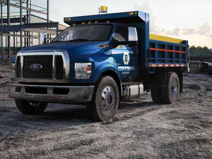 Ford shows new, more macho big trucks