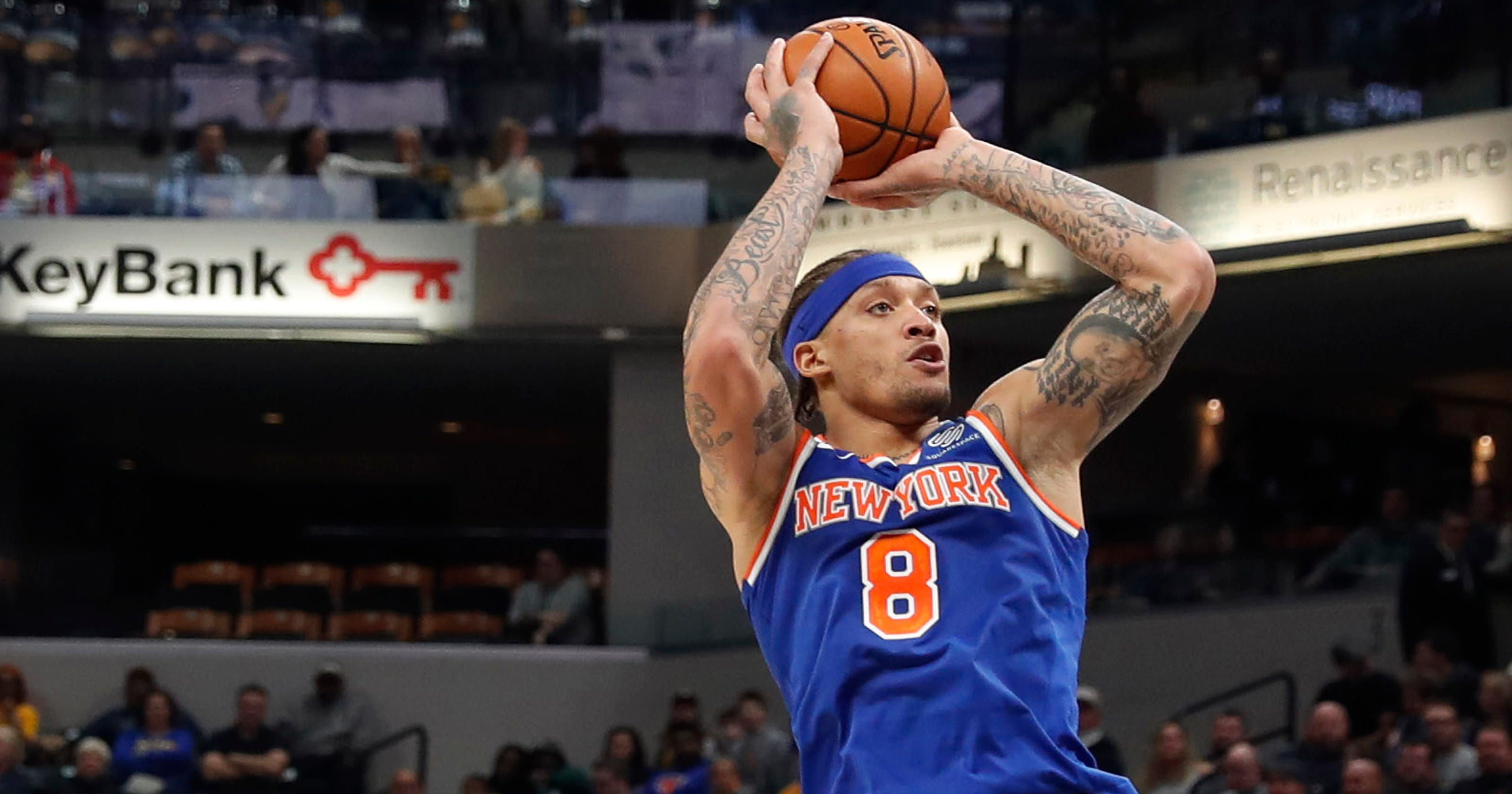 competitive price 9767d 58889 Knicks Notebook: Beasley turns left to score