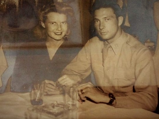 Dorothy and James H. Bruner were married in 1944.