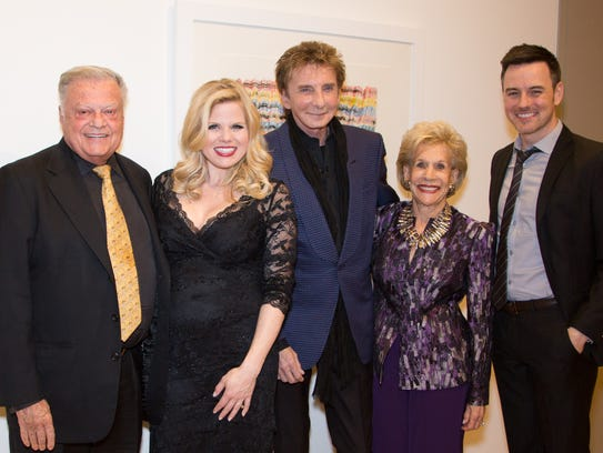 Harold Matzner, Megan Hilty, Barry Manilow, Annette