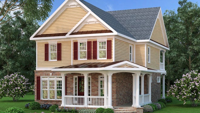 Perfect for a narrow lot, this home features a neighborhood-friendly vibe with a wraparound porch in front and two levels of outdoor living in back.