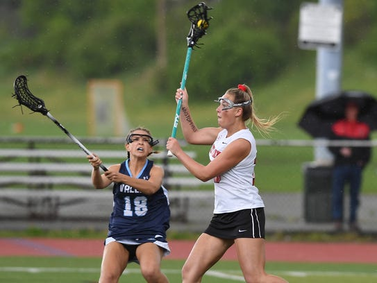 Passaic County girls lacrosse tournament finals at
