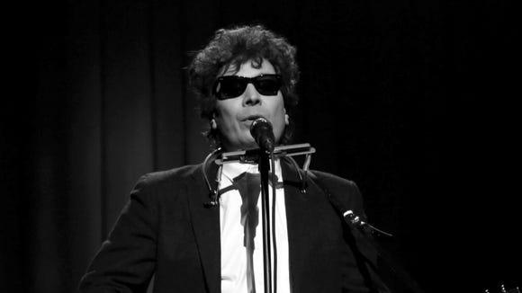 Jimmy Fallon as Bob Dylan