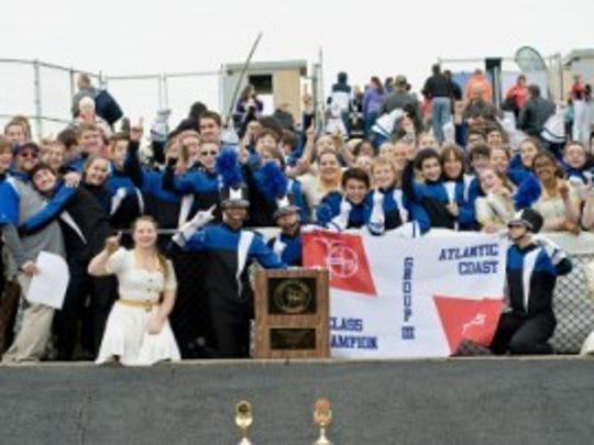 Metuchen High School Marching Band celebrates championship