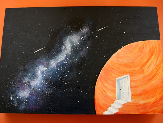 Student artwork that will be shown in the Young Artists'