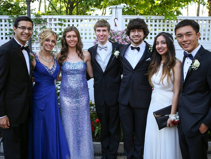 Students from Hanover Park High School attended their prom at Meadow Wood Manor on Thursday, June 5, 2014. Randolph, NJ.