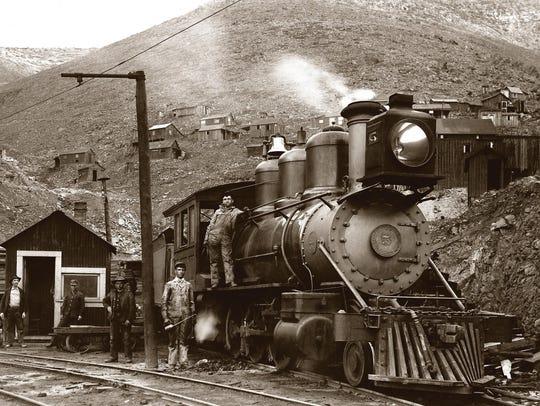Jerome mine train.