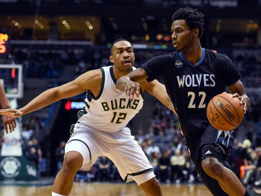 NBA: Minnesota Timberwolves at Milwaukee Bucks