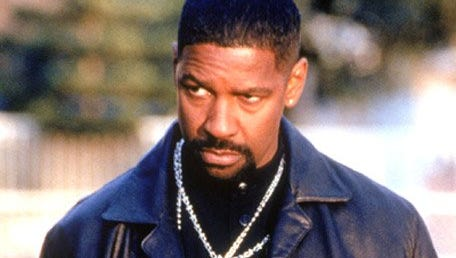 Denzel Washington in a scene from the motion picture Training Day.