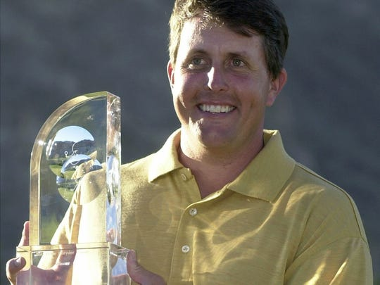 Phil Mickelson won the 43rd annual Bob Hope Chrysler Classic in 2002.