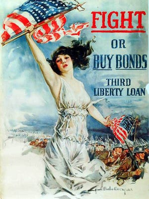 A World War I poster. A collection of vintage posters will be available for public view from Thursday, Feb. 16, to Thursday, Feb. 23, at FineMark Bank in Estero.