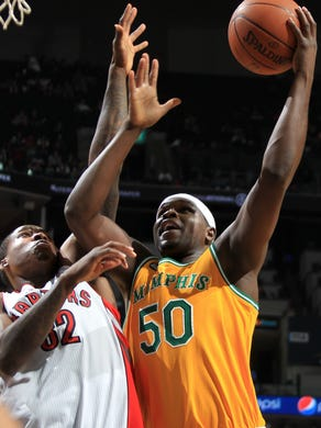March 15, 2012 -  Memphis Grizzlies forward Zach Randolph
